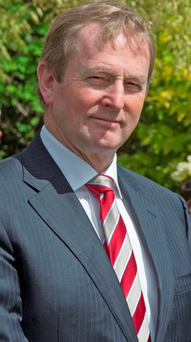'Enda Kenny and company are only notionally in charge, because currently there is no issue on which he will bolt to the country to seek a mandate' Photo: Mark Condren
