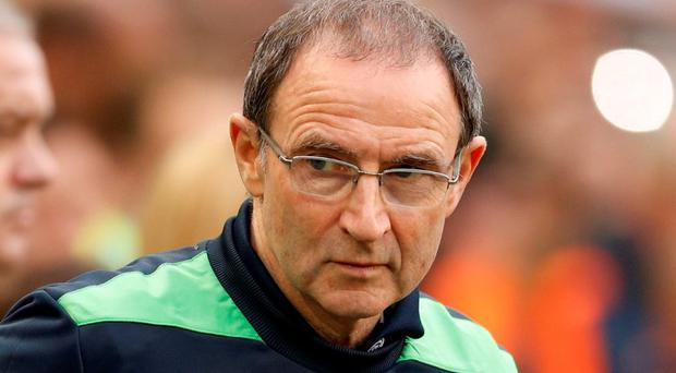 Republic of Ireland manager Martin O'Neill before the game. Photo: John Sibley/Action Images via Reuters