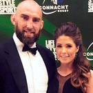 John Muldoon and his girlfriend Lorna Byrne