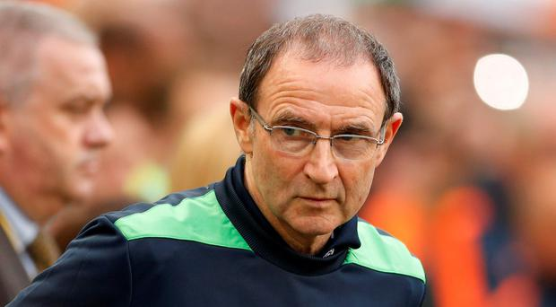 Republic of Ireland manager Martin O'Neill before the game Action Images via Reuters / John Sibley