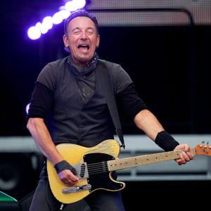 U.S. singer Bruce Springsteen performs at Croke Park stadium, Dublin, Ireland, Friday, May, 27, 2016. (Photo by Peter Morrison/Invision/AP)