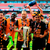 (Left-right) Hull City's Harry Maguire, Mohamed Diame, David Meyler, Ahmed Elmohamady and Alex Bruce celebrate after the Championship Play-Off Final at Wembley Stadium, London. PRESS ASSOCIATION Photo.