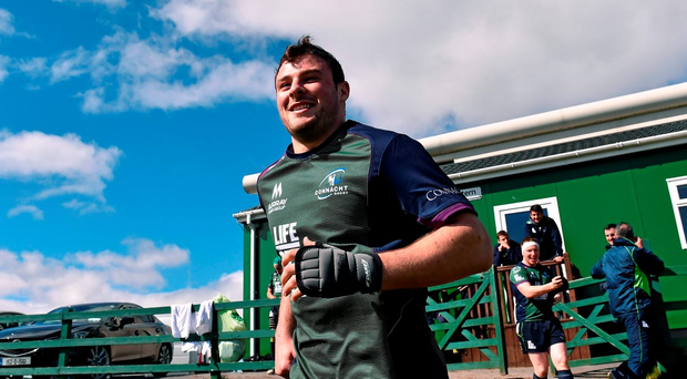 Henshaw's absence will certainly be felt by Connacht, but not as keenly as many might believe. Photo: Sportsfile