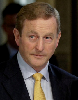 'The admission by Enda Kenny this week that he could do nothing about the gang feud in Dublin might have been a statement of the truth, but it also gave a sense of a government without an agenda' Photo: Reuters