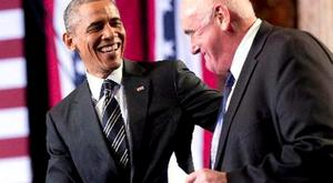 Chicago men: President Obama and Billy Lawless
