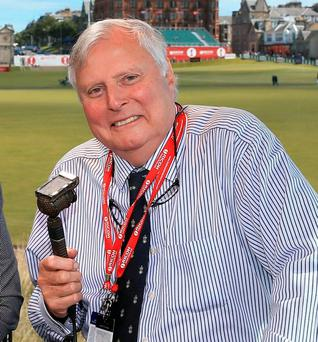 BBC Golf commentator Peter Alliss. Photo: David Cannon/Getty Images
