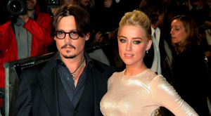 Court case: Johnny Depp and Amber Heard are divorcing after 15 months of marriage amid claims the actor was violent towards his wife on more than one occasion Photo: Yui Mok/PA Wire