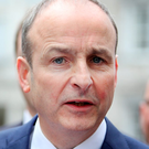 Row: Micheal Martin is angry over guidance counsellor issue Photo: Gerry Mooney