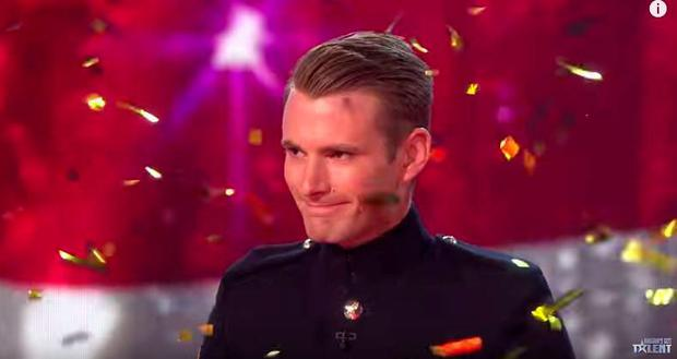 Richard Jones wins BGT
