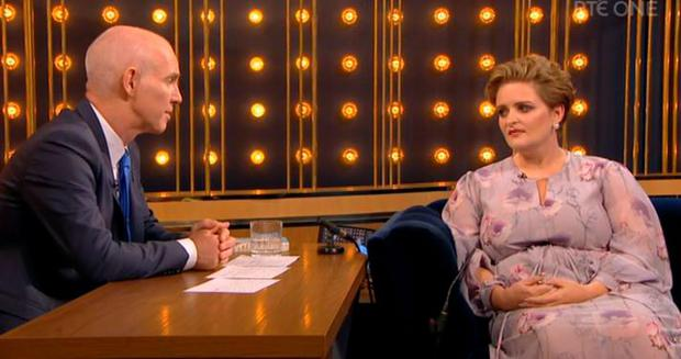 Louise McSharry on the Ray D'Arcy Show