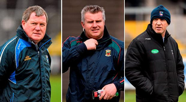 It's a very big afternoon for these three men