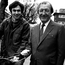 Independent TD Tony Gregory and Charlie Haughey pictured in 1982 near the Five Lamps in north-inner-city Dublin. Gregory's deal with Haughey secured significant investment in the inner city