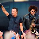 Bruce Springsteen and the E Street Band in Croke Park, in Dublin. Photo: Arthur Carron