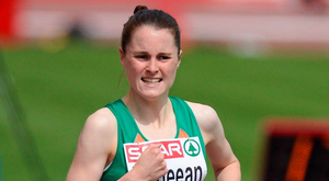 Ireland's Ciara Mageean proved she is well on her way back to the top in Oordegem, Belgium. Photo: Brendan Moran/Sportsfile
