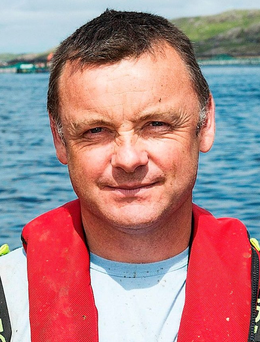 Father-of-three Marty Nee, who drowned in a diving accident