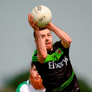 Kevin McLoughlin of Mayo fetches the ball against London in Ruislip. Photo: Sportsfile