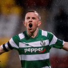 Gary McCabe of Shamrock Rovers. Photo: Sam Barnes/Sportsfile