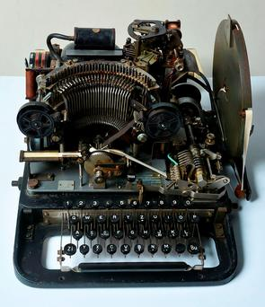 The teleprinter part of the Lorenz cipher machine that was purchased by the National Museum of Computing from eBay for 10 GBP (14.6 USD, 13.2 euro). Photo: Getty