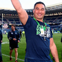 Connacht head coach Pat Lam celebrates following his side's victory Photo: Ramsey Cardy/Sportsfile