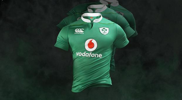 The new Ireland jersey