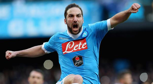 Higuain looks certain to sign for Juve