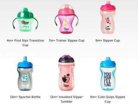American firm Mayborn has recalled more than three million Tommee Tippee Sippee cups