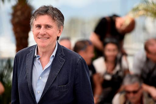 CANNES, FRANCE - MAY 18: Actor Gabriel Byrne attends the
