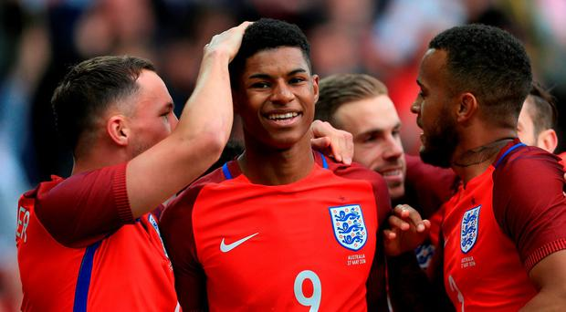 It has been a very pleasant few days for Marcus Rashford
