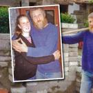 Missing man Charles Brooke Pickard (Inset: Charles pictured with his wife Penny)