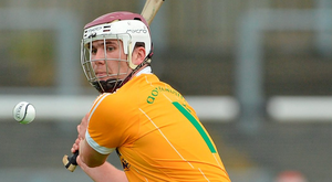 Antrim hurler Conor Carson has hit out at those making allegations of match-fixing. Photo: Barry Cregg/Sportsfile