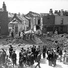 The aftermath of the North Strand bombing in 1941, which killed 28 people. (Part of the Independent Newspapers Ireland/NLI collection).