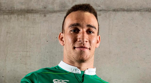 Ultan Dillane, pictured yesterday at the launch of the new Ireland jersey, has taken his sudden emergence in his stride