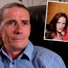 Larry Power, father-in-law of murder victim Martin O'Rourke (Inset: Martin O'Rourke and his partner Angeline)