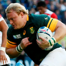 Adriaan Strauss will captain South Africa Photo: Reuters / Stefan Wermuth