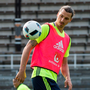 Zlatan Ibrahimovic was rested for Sweden's draw against Slovenia TT News Agency/Erik Nylander/via REUTERS
