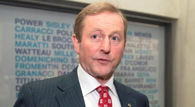 Enda Kenny. Picture: Arthur Carron