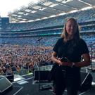 Sophie Gustafson at Bruce Springsteen's Croke Park gig on Sunday night. PIC: Sophie Gustafson Twitter