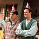 Joey (Matt LeBlanc) and Chandler (Matthew Perry) in Friends