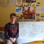 Sam McGinty, Head Boy at Coláiste Ailigh, Letterkenny