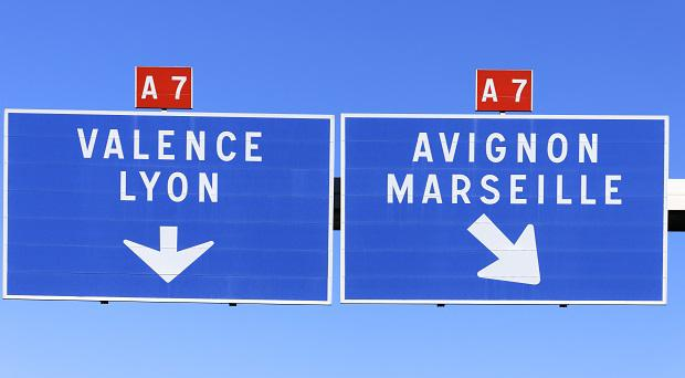 Motorways in France
