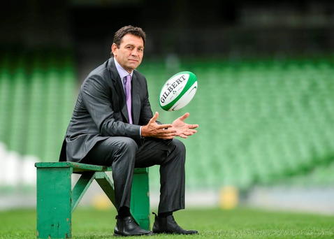 IRFU Performance Director David Nucifora insists the ball is firmly in Joe Schmidt's court. Photo: Sportsfile