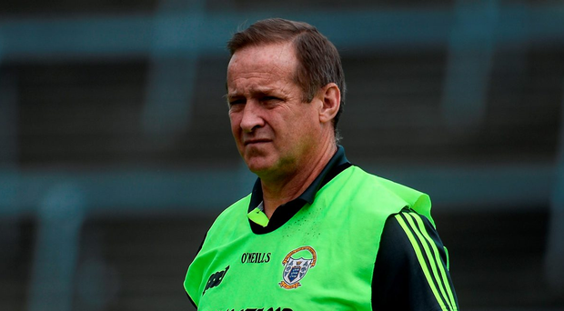 Clare manager Colm Collins Photo by Sam Barnes/Sportsfile
