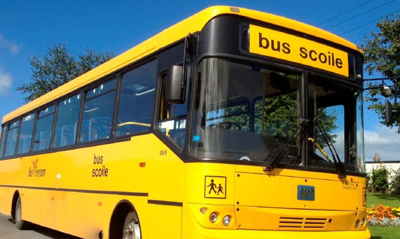 Smaller buses could result in many of what are known as'concessionary' ticket holders – who currently number about 22,000 of the 113,000 pupils on school buses – losing out. Stock Image