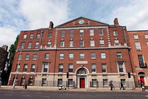 The National Maternity Hospital, Holles Street. Photo: Damien Eagers