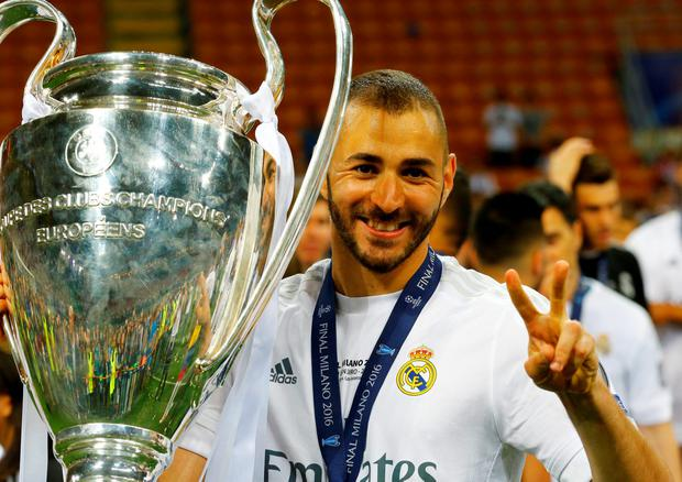 Karim Benzema helped Real Madrid lift the Champions League title with a penalty shoot-out win against Atletico Madrid in Milan last weekend