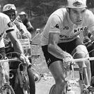 Eddy Merckx (right) won the Tour de France five times and is a national hero in his homeland of Belgium Credit: getty images