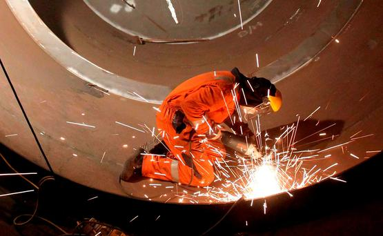 Irish manufacturing industry. Photo: PA