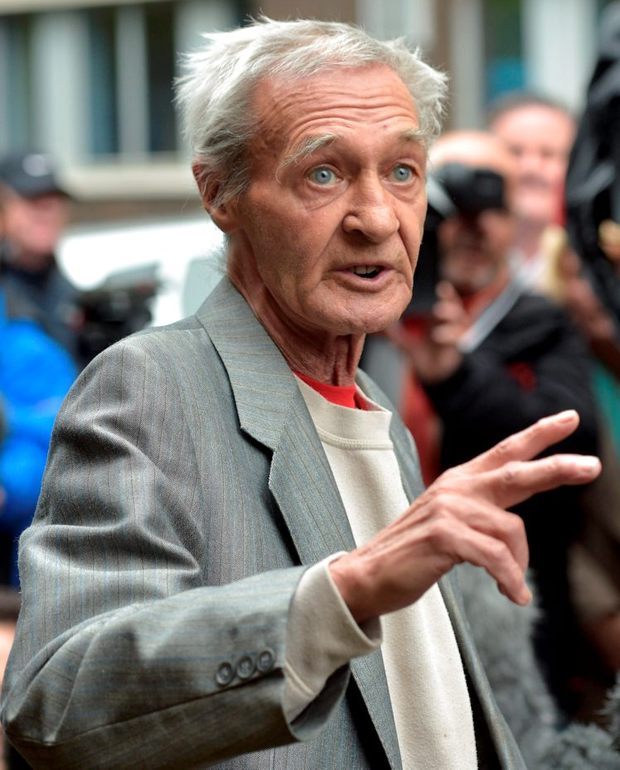 Paddy Hill, one of the men wrongly convicted Photo: Ben Birchall/PA Wire