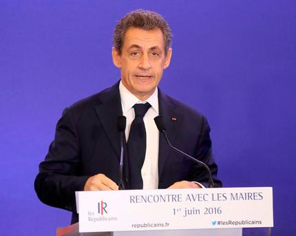 """Nicolas Sarkozy said the government """"had everything wrong from the start"""" in its handling of the crisis, which has spread chaos across France (Getty Images)"""