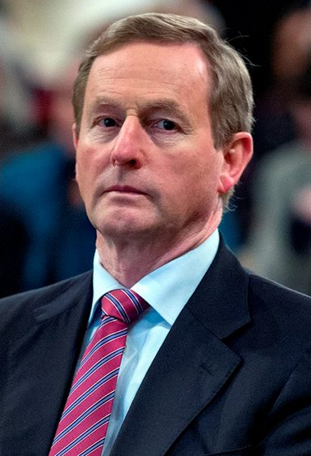 Enda Kenny: said he could not stop feud between families Photo: Arthur Carron